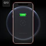 Neuester Qi Universal7.5with10w fasten aufladende drahtlose Aufladeeinheit für Samsung/iPhone