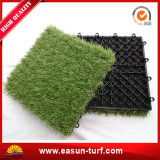 Mattonelle artificiali smontabili di collegamento dell'erba per il giardino DIY