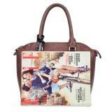 Hotsell 2017 ha ricamato le borse femminili fatte nella fabbrica della borsa di Guangzhou