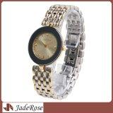 Form-Edelstahl-Quarz-Armbanduhr für Damen