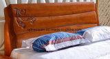 Festes hölzernes Bett-moderne doppelte Betten (M-X2351)