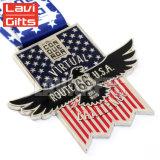 Premio de metal personalizados Souvenir ejecutar el caso de la medalla de Maratón de EE.UU.
