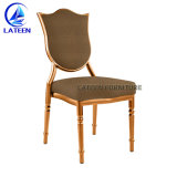 Restaurante de madera metal tejido silla de comedor Muebles