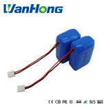 携帯用製品のための103040pl 2400mAh 1s2p Lipolymer電池