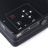 Portable 1080 pixels suporta LED Full HD Vídeo Projector de Cinema em Casa