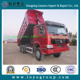 De Vrachtwagen van de Kipper van Sinotruk HOWO, de Vrachtwagen van de Kipwagen, de Vrachtwagen van de Stortplaats