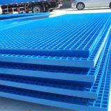 El FRP GRP de plástico reforzado con fibra de rejillas de fibra de vidrio
