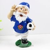 De Gnomen van het Ornament van de Tuin van het voetbal, het Art. van de Gnoom van de Tuin