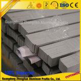 Staaf van het Aluminium van de Fabrikant van de Sectie van het aluminium de Stevige Vlakke