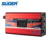 Suoer 1500W 12V 230V intelligenter geänderter Sinus-Wellen-Inverter