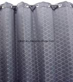 Una figura geometrica grigia popolare panno di vendita caldo dei 2018 mercati della tenda di finestra della camera da letto del poliestere