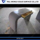 최신 판매 백색 광택 CEO 테이블 행정실 책상 디자인