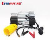 Eversafe High-Quality 12V металлические автоматический воздушный компрессор с помощью защелки аккумулятора для шин легковых автомобилей