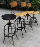 Промышленный трактир Barstools металла Toledo сбор винограда обедая стулы сада