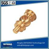 Латунным подгонянные материалом части точности CNC подвергая механической обработке поворачивая