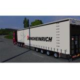 Coperchio flessibile di Curtainsider del camion del PVC del bene durevole del nastro