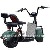 Мощный электрическийScooters зеленого цвета с 01- 60V 1500 Вт Бесщеточный двигатель