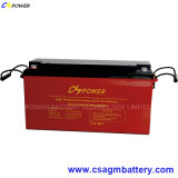 Batería recargable 12V150ah del gel del almacenaje de la potencia para solar