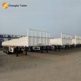 De 3 essieux de pontée vente plate de remorque semi en Afrique