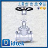 El borde del acero inoxidable de la prueba de Didtek API598 termina la válvula de globo