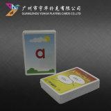 De OnderwijsKaarten van de Speelkaarten van het Ontwerp van de douane voor Jonge geitjes