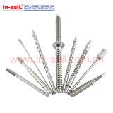 Shenzhen-Hersteller-Verbinder-gerändelte Schraube
