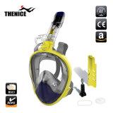 Идеи новой продукции 2018, полностью закрывающую лицо с трубкой и маской подсети складной дизайн для подводной камеры действий