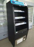Dispositivo di raffreddamento di aria industriale aperto della bevanda dritta del supermercato