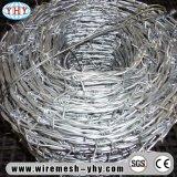 Der heiße eingetauchte galvanisierte Stacheldraht-Zaun, der für verwendet wird, schützen sich