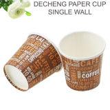 Taza de café del papel del gusto de la categoría alimenticia de la alta calidad mini