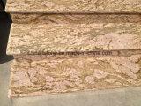 Плитка строительного материала гранита Китая золотистая для стены и шага