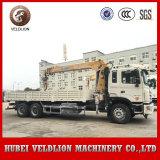 Gru montata camion telescopico della gru JAC 10ton del camion dell'asta, un camion da 10 tonnellate con la gru