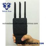 Handheld 6 полос GSM CDMA 3G и Jammer сигнала Lojack GPS с Nylon случаем
