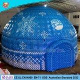 Gonflables de qualité Super Hat tente igloo pour événement de la publicité