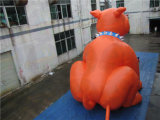 巨大で膨脹可能な犬、よい価格との膨脹可能な広告