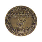 熱い販売の堅いエナメルの倍は敏感なメダル硬貨味方する