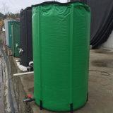 Garten aufbereiteter zusammenklappbarer Plastikregen-Speicher-Blasen-Zylinder