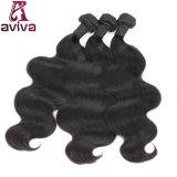 100%の人間の毛髪の拡張ブラジルのバージンの毛ボディ波