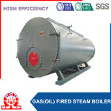 Caldaia a vapore del gas naturale e dell'olio del combustibile doppio di alta efficienza