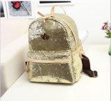 Sac en cuir Fashion Multi-Color Loisirs paillettes sac à dos pour les jeunes filles/femmes/les femmes
