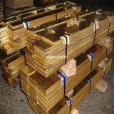 Cathode de cuivre de 99,99 % de la plaque (TU2, C1020T, C10200, T2, C1100, TP1, C1201)