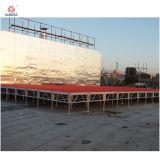 2m maximaler Höhen-Tanz-Stadiums-Fußboden kundenspezifische Stadien