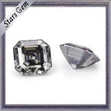 각종 크기 회색 색깔 Asscher 커트 Moissanite 다이아몬드