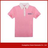 Chemises de polo de bonne qualité personnalisées de coton pour les hommes (P25)