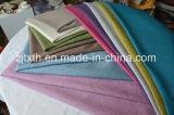 255 gramos de tinte de color brillante pieza de tela de lino para el sofá
