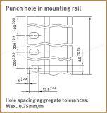 Gids van de Keten van de PA van het Spoor van de Gids van de Weerstand van de slijtage de Lineaire type-Ckg 14h