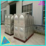 Tanque de água secional do aço inoxidável do quadrado do produto comestível