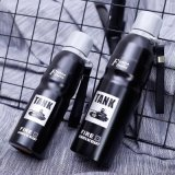 16 Unze-bewegliche doppelte Schicht-Edelstahl-Wasser-Flasche (SH-ST18)