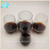 Os vidros de vinho Unbreakable plásticos ajustaram-se para a venda