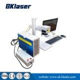 Mini portátil marca auricular Animal Máquina de marcação a Laser de fibra